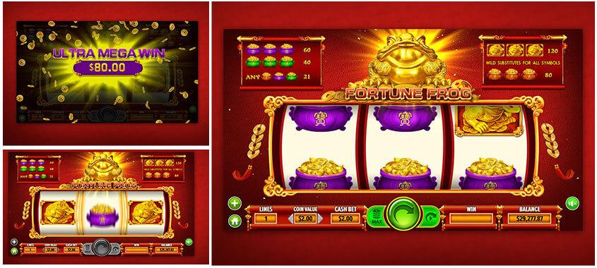 Dragon Gaming Slots Game Fortune Frog