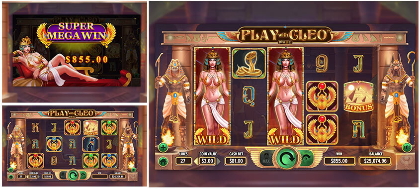 Dragon Gaming Slots Game Play With Cleo