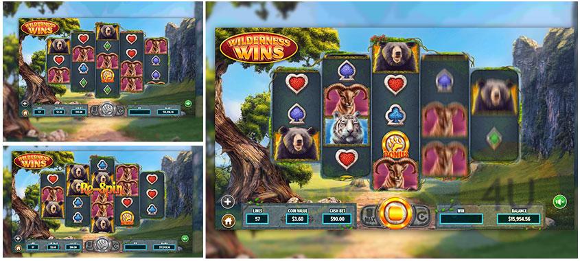 Dragon Gaming Slots Game Wilderness Wins